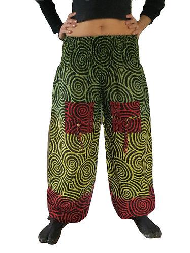 pantalon rasta femme