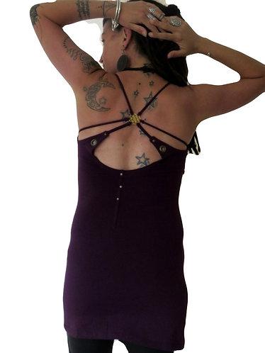 robe boheme violet