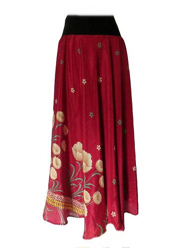 vetemnent ethnique jupe rouge