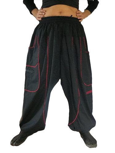 pantalon teufer noire