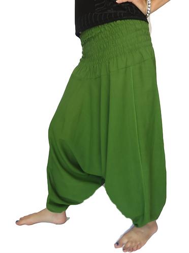 sarouel femme vert