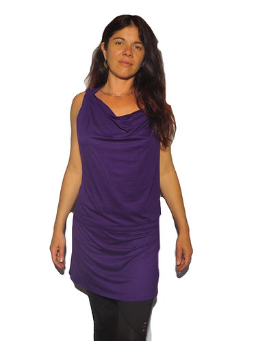 robe teuf violet