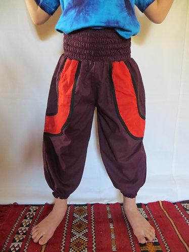 Pantalon Enfant Bordeaux