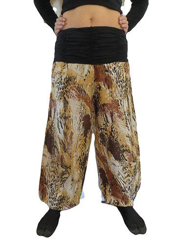 pantalon femme leopard
