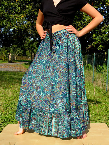 Jupe Frill Bleue