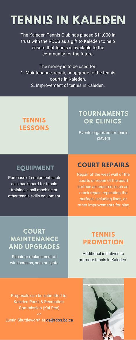 Kaleden Tennis Club trust for tennis