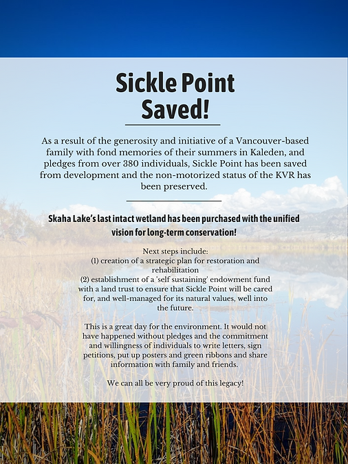 Sickle Point Saved!