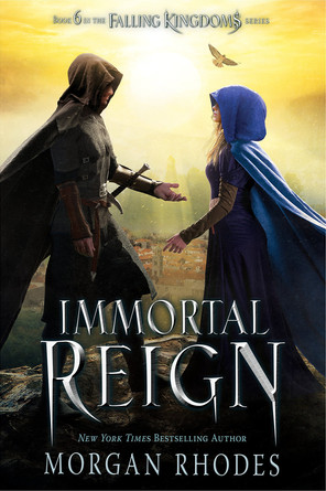 """Book Review: """"Immortal Reign"""" by Morgan Rhodes"""
