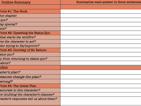 Download Update: Three Act Structure Outline Summary