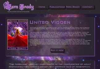 Author Fern Brady - Website Design