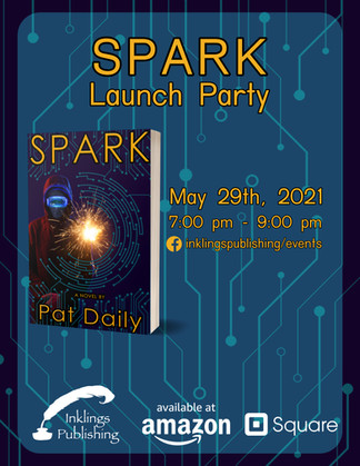 Spark - Launch Party Flyer