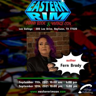 Eastern Rim Con - Announcement Card