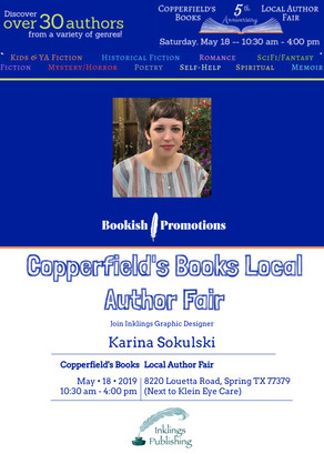 Join Me at Copperfield's Books Local Author Fair