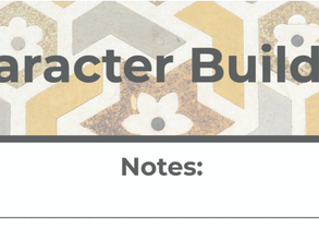 Character Building Workbook