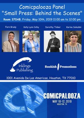 "Compicpalooza 2019 Panel: ""Small Press: Behind the Scenes"""
