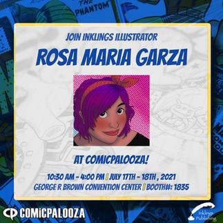 Comicpalooza - Rosa Maria Garza