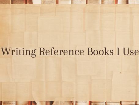 Writing Reference Books I Use