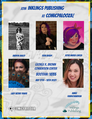 Comicpalooza - Inklings Publishing Authors & Staff