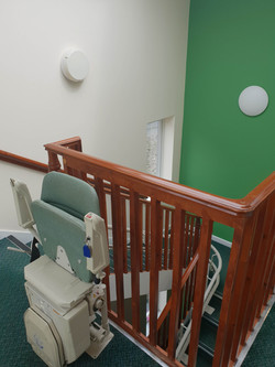On of our stair lifts