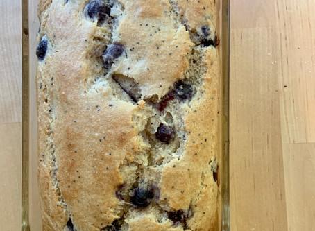 Lemon Blueberry Poppy Seed Breakfast Cake