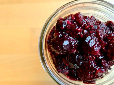 Chia Seed Berry Jam