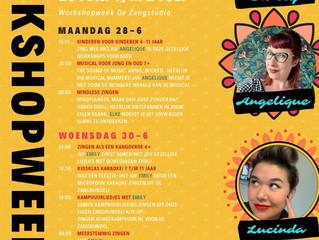 Workshopweek 28 t/m 2 juli