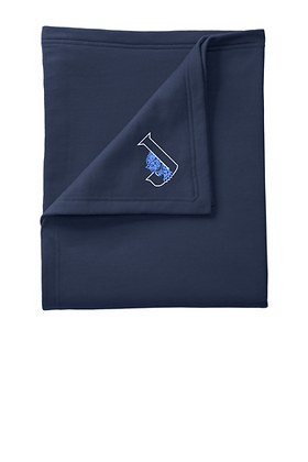 Blanket w/Embroidered Logo