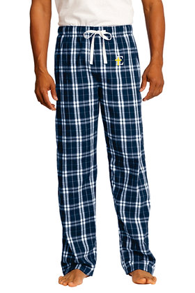 Men's Flannel Plaid Pant DT1800 - Embroidered Logo (4 Logo Options)
