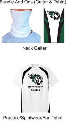 Bundle Add On (Gaiter & Tshirt)