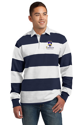 Classic Long Sleeve Rugby Polo ST301 - Embroidered (4 Logo Options)