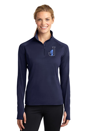 Ladies 1/4 Zip Pullover LST850 - Embroidered