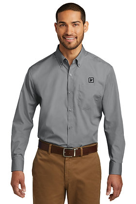 Men's Port Authority W100 Dress Shirt with Embroidered Logo
