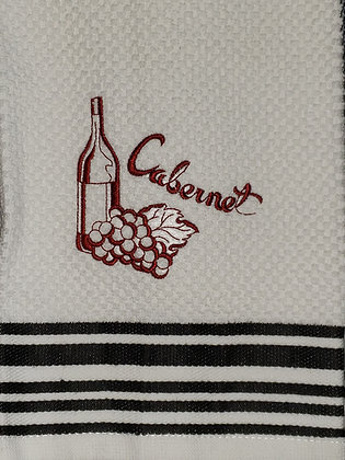 Cabernet Wine Kitchen Towel