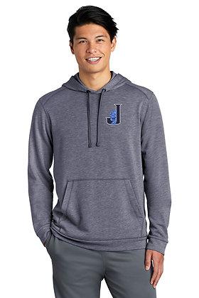 Mens Sport-Tek ® Tri-Blend Wicking Fleece Hoodie ST296 - Embroidered