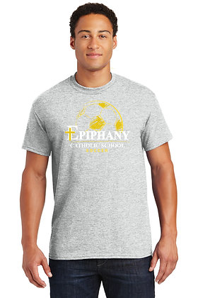 Short Sleeve Unisex Tshirt with Front Full Logo