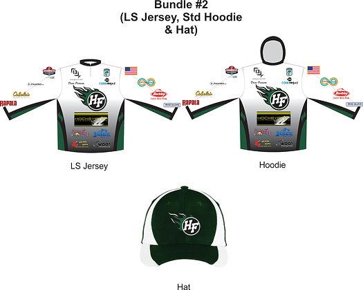 Bundle #2 - LS Jersey + Standard Hoodie + Hat