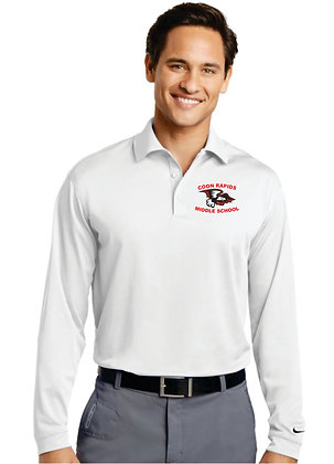 Nike Dri-Fit Polo Long Sleeve - Mens