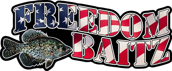 Freedom Baitz 6 inch Decal
