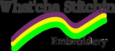 Whatcha Stitchin Logo 4 inch.png