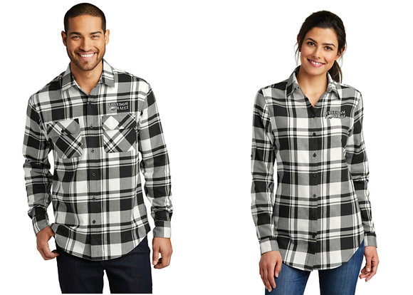 Flannel Shirt (4 Colors Available) with Freedom Baitz Embroidered Logo