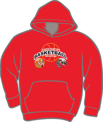 Standard Basketball Hoodie w/Player Photo(s)
