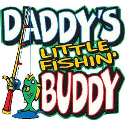 Daddy's Little Fishing Buddy (Child's Tshirt)