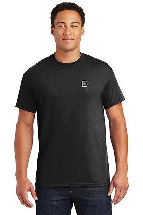 Gildan 8000 50/50 Dry Blend SS Tshirt with Screen Printed Logo