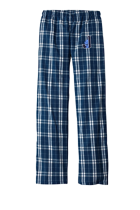 Flannel Pant w/Embroidered Logo