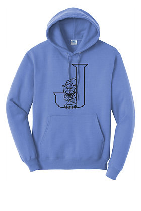 Regular Hoodie (Adult Size) with Front Full Logo