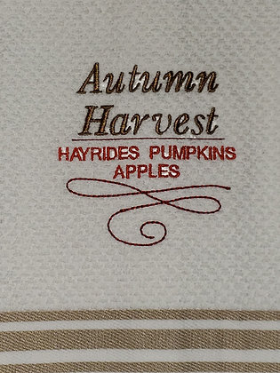 Autumn Harvest Kitchen Towel