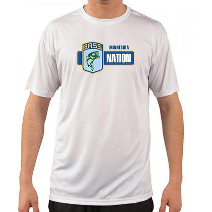 Sublimated Short Sleeve Performance Tshirt Vapor M100 - Full Chest Logo