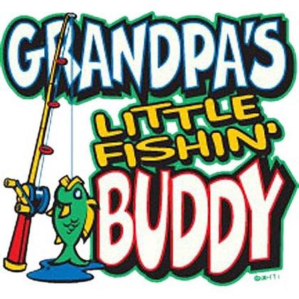 Grandpa's Little Fishing Buddy (Child's Tshirt)