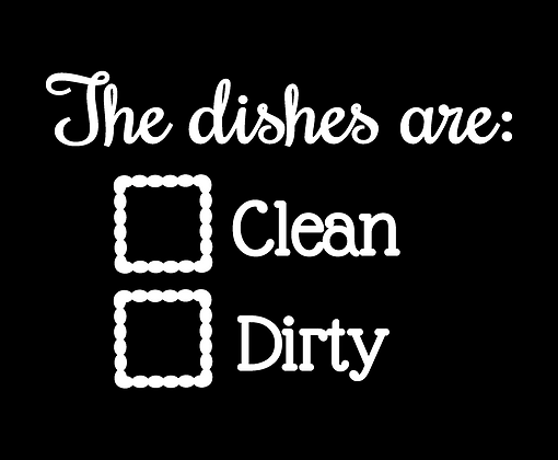Dishes are 2