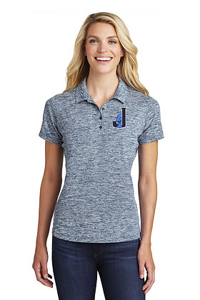 Womens Sport-Tek® Electric Heather Polo LST590 - Embroidered